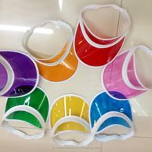 various color of pvc solar caps/hats for sale