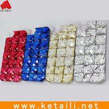Bling cell phone cover for iPhone 5s crystal case