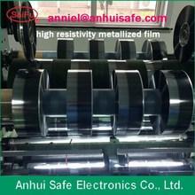 mpp metalizado de la película de aluminio de zinc pesado cine edage