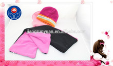 2015 hot colorful plain dyed knit caps & knitted winter hats