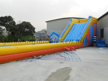 adult size inflatable water slide inflatable bouncy castle with water slide