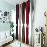 Heavy elegant Arabic style plain chenille curtain fabric drape for sun blackout