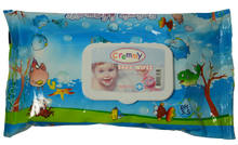80pcs nonwoven baby refreshing tissue