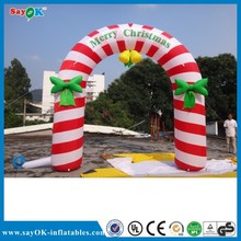 2015 christmas decoration inflatable christmas arch/inflatable arch