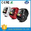 1.44 Inch U8 Android Smart Watch Phone , Cheap Bluetooth 3.0 Smart Phone Watch