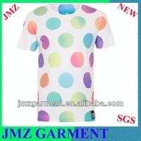 sublimation print t-shirt guangdong garment mens tee custom printed shirts