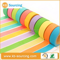 2015 waterproof japanese custom most selling product in alibaba brown washi paper tape