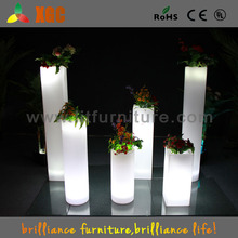 wholesale lighted aisle stands weddings/pillars stands flowers/crystal stands for weddings with rechargeable battery