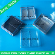 Professional Custom APET/PS/PP food container packaging box cake box packing mooncake tray boxes