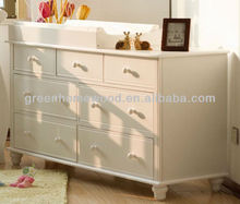 7 Drawers Changing Table/Chest