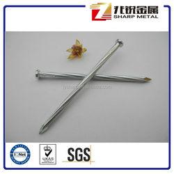 galvanized concrete nails / steel concrete nails / hardened steel concrete nails China