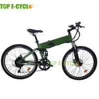 TOP E-cycle 26 inch hummer electric mountain bicycle folding bike