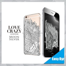 for custom iphone 6 hard case pc material angel wings case for iphone 6, custom logo