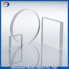 YBT Design And Processing AR coating CaF2 Calcium Fluoride Optical Instrument Window