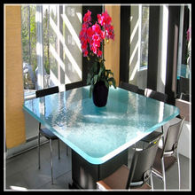 restaurant white 4 seaters dining tables