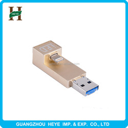 2015 of the latest mobile phone usb computer dual-use high-speed original OTG support iOS upgrade second card reader