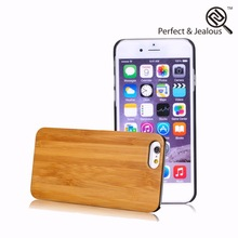 mobile phone accessories factory in china Custom leather for iphone 6 wood case
