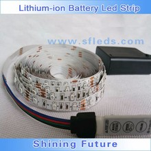Hot new rechargeable battery led strip light for chritmas costume Decoration