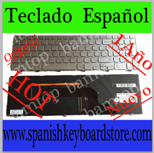 FOR dell backlit keyboard For Inspiron 15 7000 7537-3306 7537 7737 spanish version