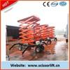 Mobile vertical hydraulic lift platform / elevator man lift