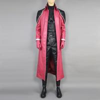 New Anime Final Fantasy VII 7 Genesis Rhapsodos Cosplay Costumes adult halloween/party/masquerade costume custom made