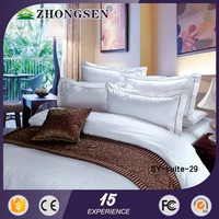 Romantic luxury design bed sheet king size 3d high quality bedding fabic