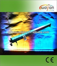 High-tech IR remote optional and excellent color mixing DMX bar RGB 36W 8 sections indoor led wall washer with battery