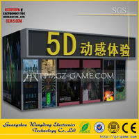 home 5d theatre system/truck mobile 7d cinema/5d Projector Cinema