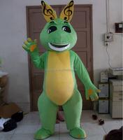 Hola green dinosaurs custom costume/mascot/mascot costume
