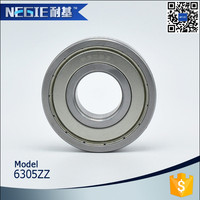 China supplier Cixi Negie manufactures high speed precision performance 6305-2rs bearing