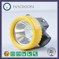 High safety level light weight long use time BK2000 safety LED miners headlight