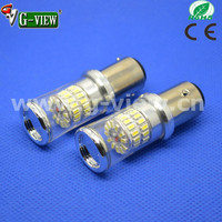 2015 high power ba15s ba15d led car light yellow10-30v 1156 1157 3014 48smd led car turn light