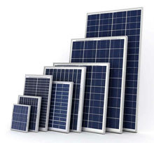 mini solar panels 100w poly pv module for home use