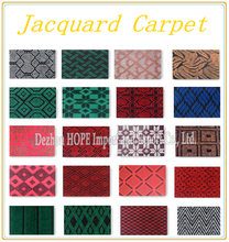 Home Textile New products low price double or velour jacquard carpet for office and hotel in China