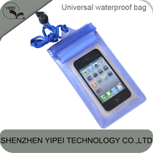 PVC Waterproof Dry Bag for iPhone 4 4s 5 5s 5c 6 for Samsung S3 S4 S5 for Mobile Phone with 4.3-5 inch