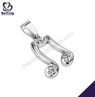 New hot music symbol shape wholesale 2013 couple necklace