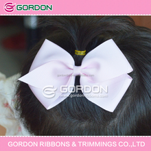 hair bows for school/human hair fabric wholesale