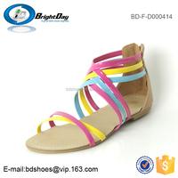 Summer Valentine women sandals and slipper rainbow sandals