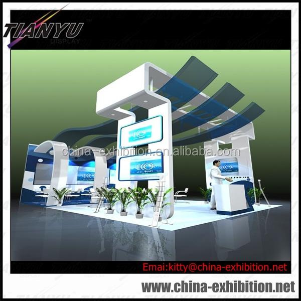 Modern Exhibition Booth : Modern exhibition booth display aluminum system trade show