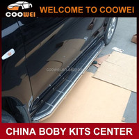 High quality Aluminum Alloy material Navigator style car side running board for Audi Q5 2013 year