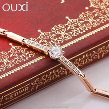 New arrival 18k gold plated heart bracelet made with swarovski element Crystal 30292-2