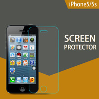 Factory Price 0.2mm / 0.26mm Hardness Mobile Phone liquid glass screen protector for iPhone5s (Glass Shield)