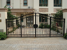 New design wrought iron gate