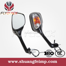 SF-099 FLYQUICK black carbon motorcycle motorbike racing bike turn signal mirror for suzuki gsxr 1000