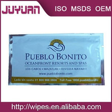 airline cleaning wet tissue or business wet wipes with good quality
