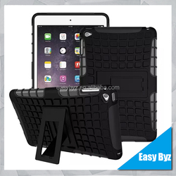 Rugged shockproof TPU and Plastic cover case for iPad mini 4
