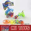 2014 Super power musical flashing spinning top plastic toy