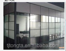 frosted glass wall freely setting parts