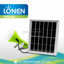 LONEN multi-functional 30 SMD wall mounted solar led rechargeable torch