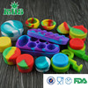 Eco-friendly non-stick mini container siliconer jars for wax vaporizer pen